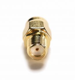 Pin Adapter Conventer SMA female to male Rp sma.
