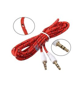Kabel AUX AUDIO 1IN1 /Speaker Mobil SINGLE 1 Jack MODEL TALI SEPATU