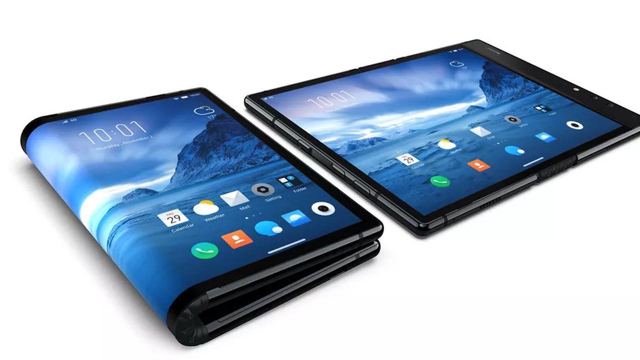 Smartphone Layar Lipat Pertama di Dunia